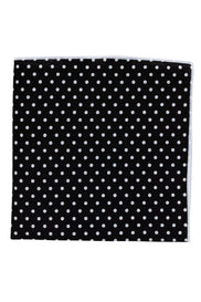 Black Polka Pocket
