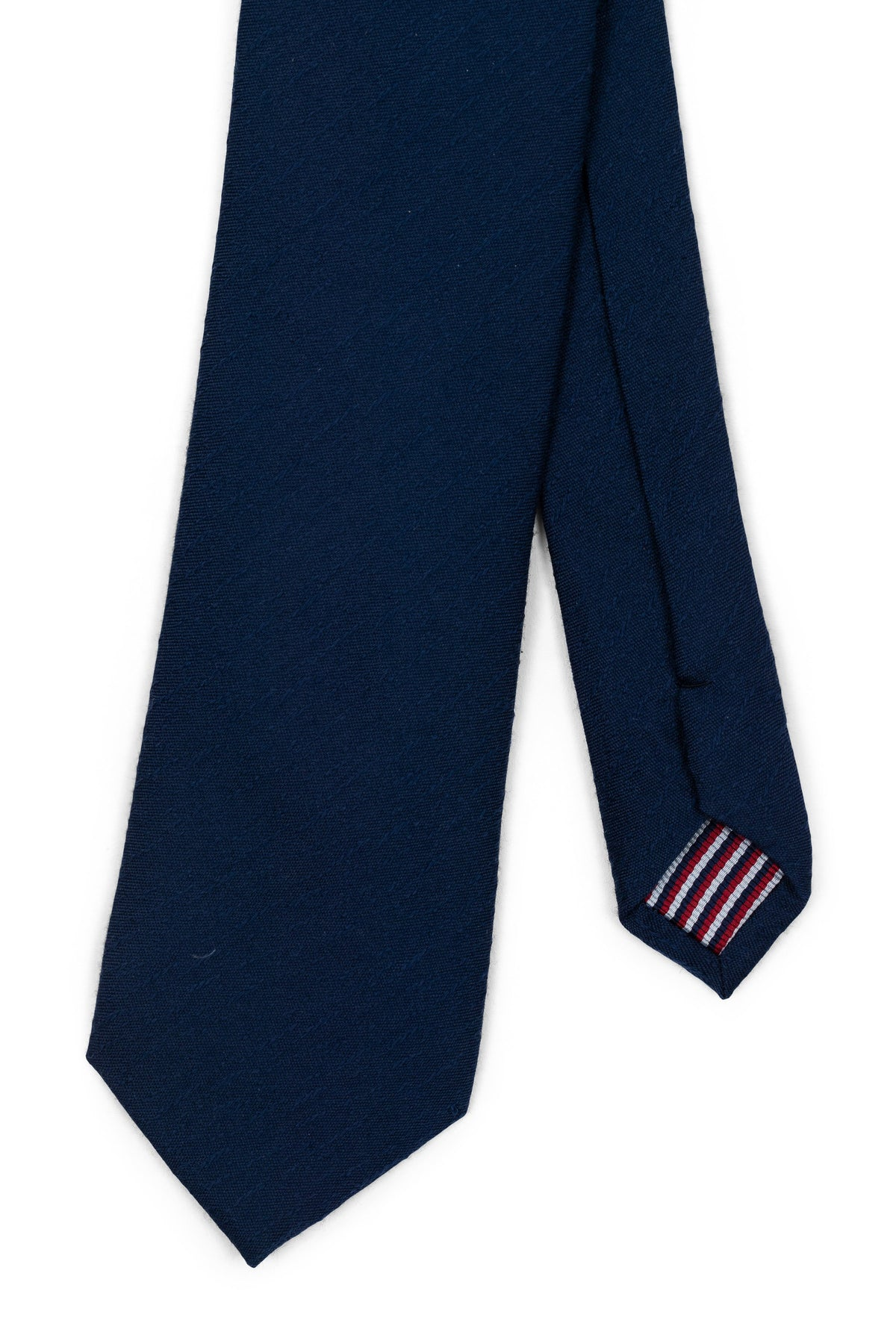 Solid Navy Textured