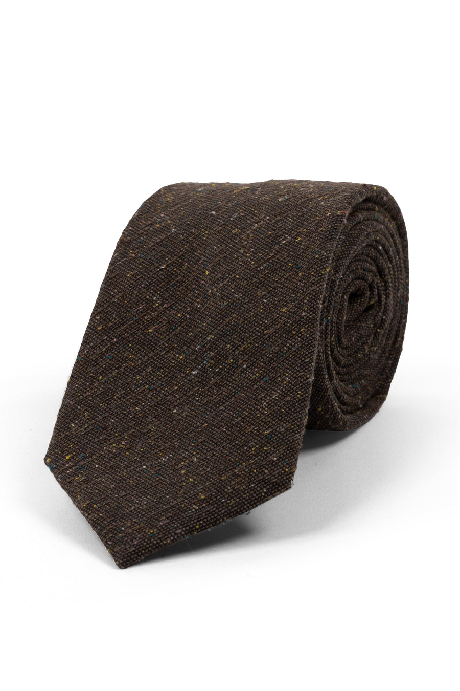 Dark Brown Textured