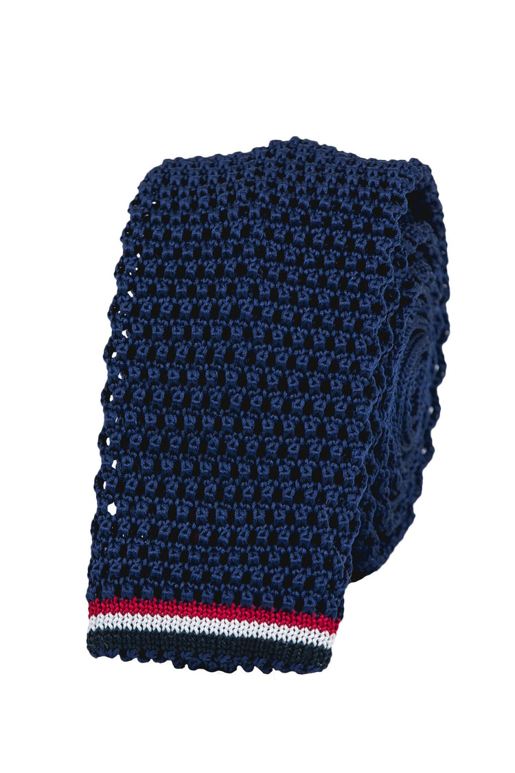 The Solid Navy Knit