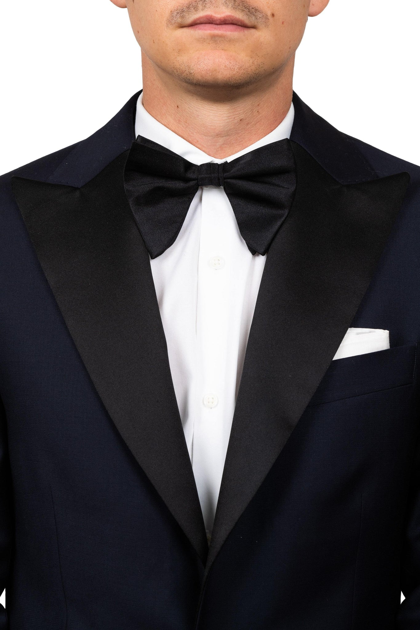 Black Oversized Bow Tie