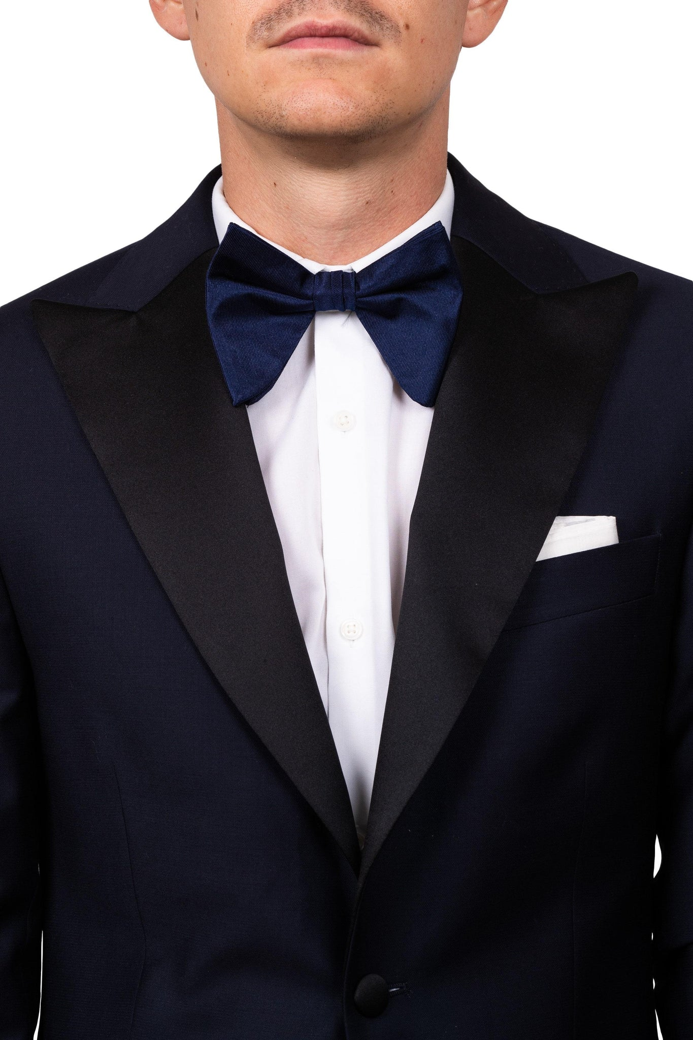 Navy Oversized Bow Tie