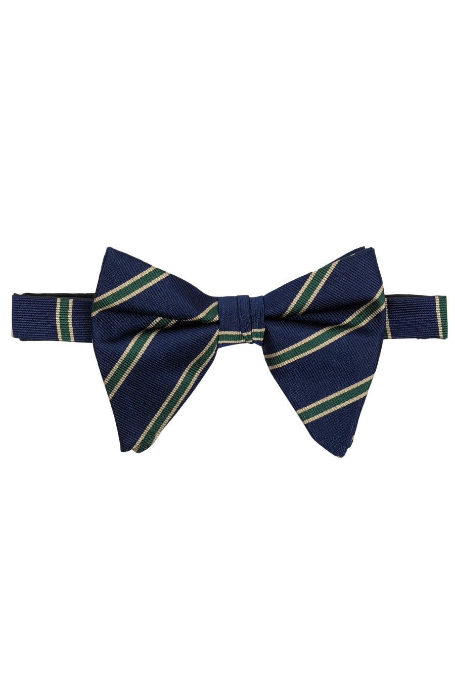 Striped Oversized Bow Tie