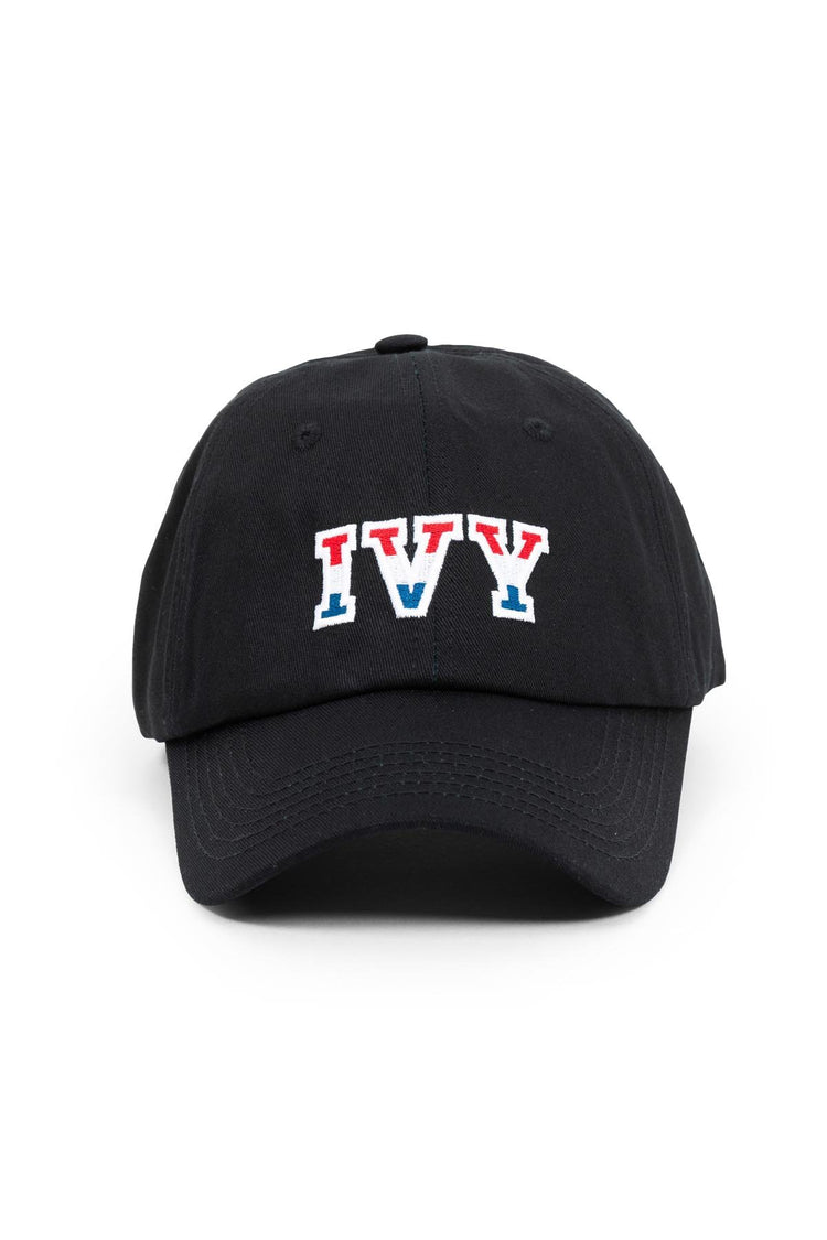 Black Ivy Tricolore Dad Cap