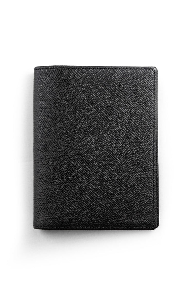 Classic Grain-Leather Passport Cover