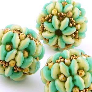 Papillon Beaded Bead