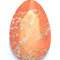 GM-0233 - Orange Variscite Faceted Teardrop Gemstone Pendant,35x50mm | Pkg 1