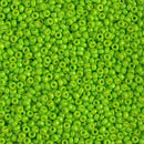 11-4471 - 11/0 Duracoat Opaque Dyed Neon Green | 25 Grams