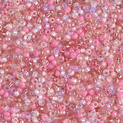 11-MIX-03 - 11/0 Miyuki Seed Bead Mix, Pretty in Pink | 25 Grams