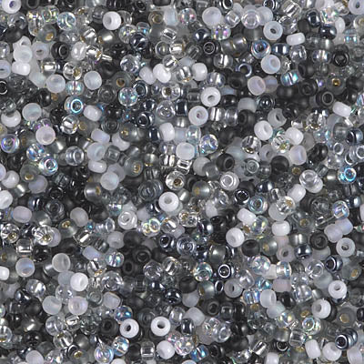 11-MIX-04 - 11/0 Miyuki Seed Bead Mix,Salt and Pepper | 25 Grams
