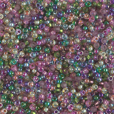 11-MIX-10 - 11/0 Miyuki Seed Bead Mix, Heather | 25 Grams