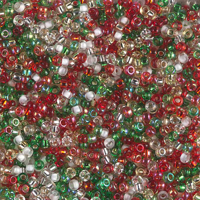 11-MIX-17 - 11/0 Miyuki Seed Bead Mix, Happy Holidays | 25 Grams