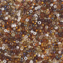 11-MIX-21 - 11/0 Miyuki Seed Bead Mix, Golden Grains | 25 Grams