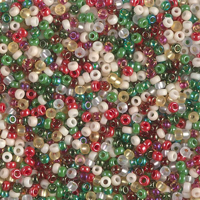 11-MIX-22 - 11/0 Miyuki Seed Bead Mix, Old Fashioned Christmas | 25 Grams