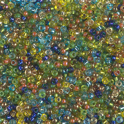 11-MIX-38 - 11/0 Miyuki Seed Bead Mix, Egyptian Lapis Stripe | 25 Grams