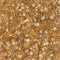 11C-195 - 11/0 Cut 24kt Gold Lined Crystal (Like DB 33) Miyuki Seed Bead   | 25 Grams