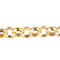 CHN-0025 - Gold Plated 6mm Rolo Chain | 3 Feet