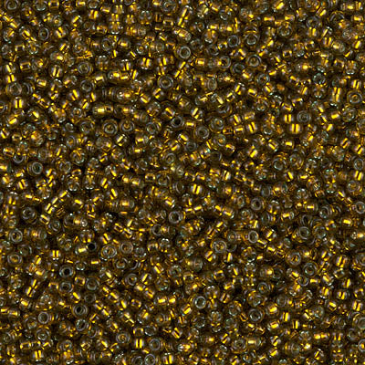 15-1421 - 15/0 Dyed S/L Golden Olive (Like DB 604) Miyuki Seed Bead | 25 Grams