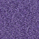 15-1531 - 15/0 Spkl Purple Lined Crystal (Like DB 906) Miyuki Seed Bead | 25 Grams