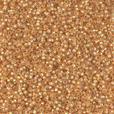 15-4231 - 15/0 Duracoat S/L Dyed Golden Flax Miyuki Seed Bead | 25 Grams