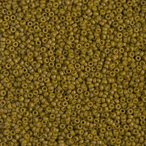 15-4491 - 15/0 Duracoat Opaque Dyed Olive | 50 Grams