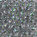 2-3204 - 2/0 Magic Smoke Patina Lined Crystal Miyuki Seed Bead | 25 Grams