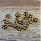 AB-1049 - Antique Brass Bali Style Spacer Beads,5.5mm | Pkg 50