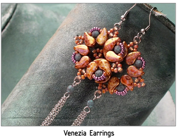#PDF-467 Venezia Earrings