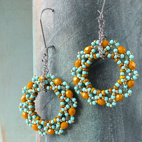 #PDF-252 - MiniDuo Hoop Earrings Project