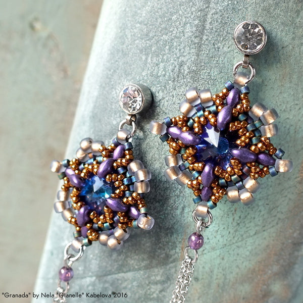 #PDF-248 - Granada Earrings Project