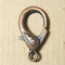 AB-0270 - Antique Copper Large Fancy Trigger Clasp, 17x30mm | Pkg 2