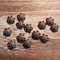 AB-917 - Antique Copper 10mm Petal Bead Caps | Pkg 20