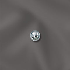 SS/3034/3 - Sterling Silver Round Beads, 3mm | Pkg 25