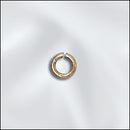GF/JR28/4 - Gold Filled 4mm Round Jump Rings, Open | Pkg 10