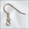 JW100G - Gold Plated Earring Findings,Coil With 3mm Ball | Pkg 10