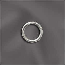 JR/032X6S - Silver Plated 20 Gauge Open Jump Rings | 25 Pc