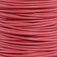 GL/016/2 - Leather Cord, Pink, 2mm | Pkg 4 Feet