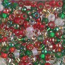 6-MIX-09 - 6/0 Miyuki Seed Bead Mix, Happy Holidays | 25 Grams