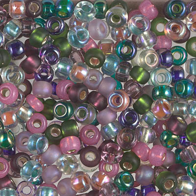 6-MIX-11 - 6/0 Miyuki Seed Bead Mix, Heather | 25 Grams