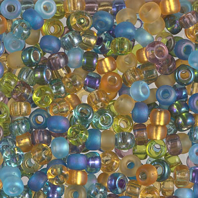 6-MIX-12 - 6/0 Miyuki Seed Bead Mix, Fields of France | 25 Grams