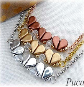 #PDF-499 St. Valentin Necklace by Puca