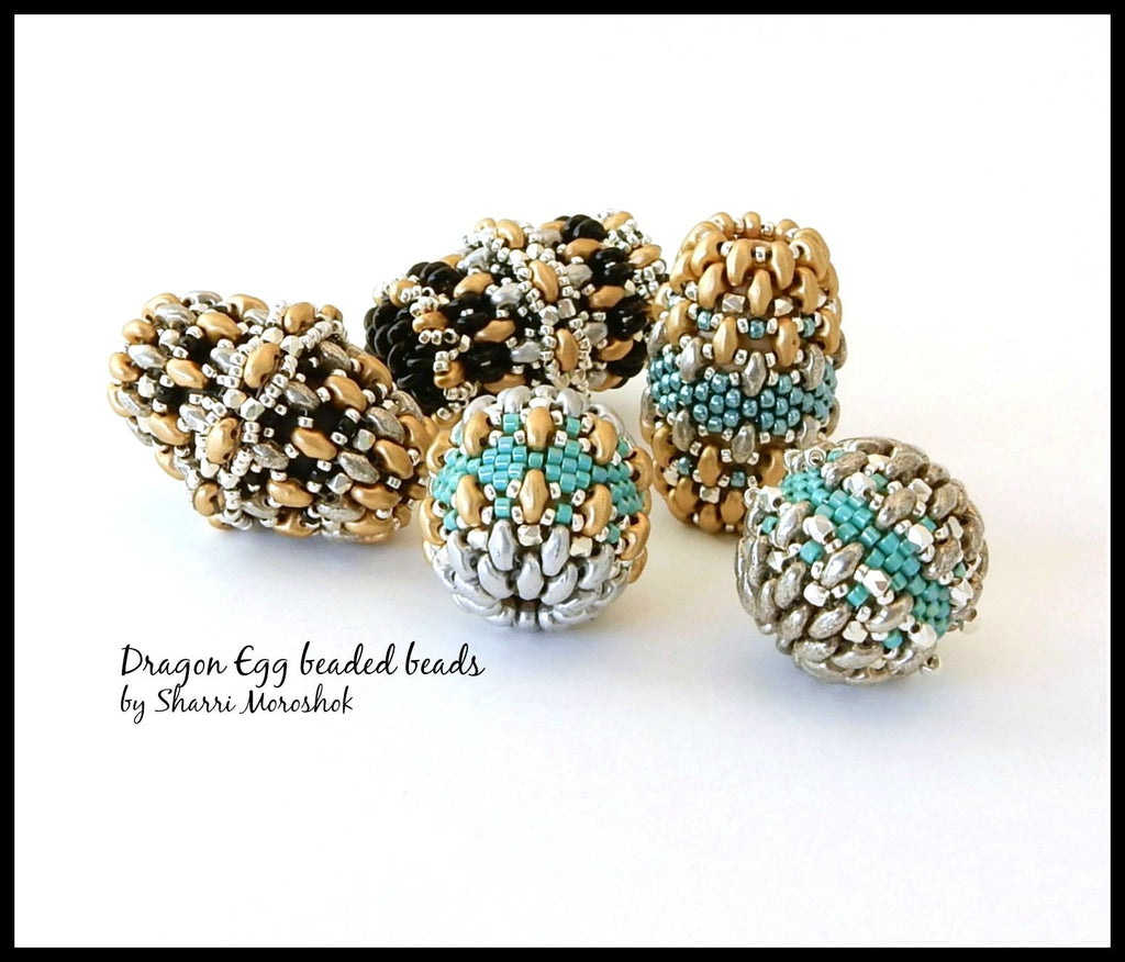 #PDF-527 - Dragon Egg Beaded Beads Project