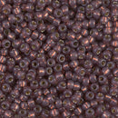 8-4249 - 8/0 Duracoat Silver-Lined Dyed Rose Bronze (like 6-641) Miyuki Seed Bead | 25 Grams