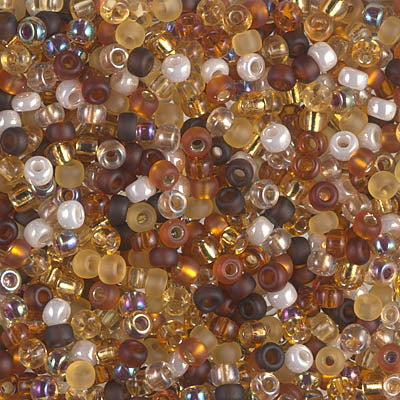 8-MIX-05 - 8/0 Miyuki Seed Bead Mix, Golden Grains | 25 Grams
