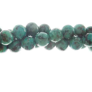 "GM-0116 - 8mm African Turquoise Gemstone Beads | 16"" Strand"
