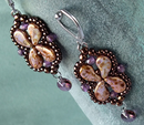 #PDF-378 - Arabesque Earrings Project