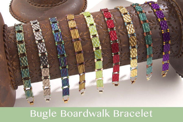 #PDF-486 - Bugle Boardwalk Bracelet