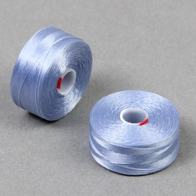 CLBD-LB - C-LON Beading Thread,  Light Blue D bobbin 1 Bobbin (approx 78 yds per bobbin)