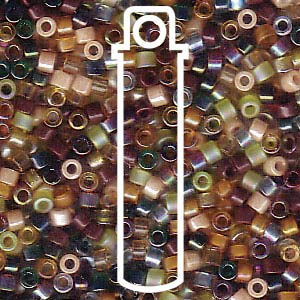 DB-MIX07-TB - 11/0 Delica Bead Mix Earthtone | 7.2g Tube