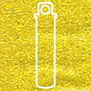 DB160-TB - 11/0 Delica Beads Opaque Yellow AB | 7.2g Tube
